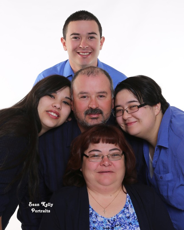 Family Fun Portrait. High Key, Studio, Taos, New Mexico, Portrait Studio, Family Photography