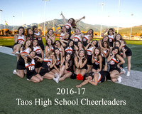 Cheerleaders 2016-17